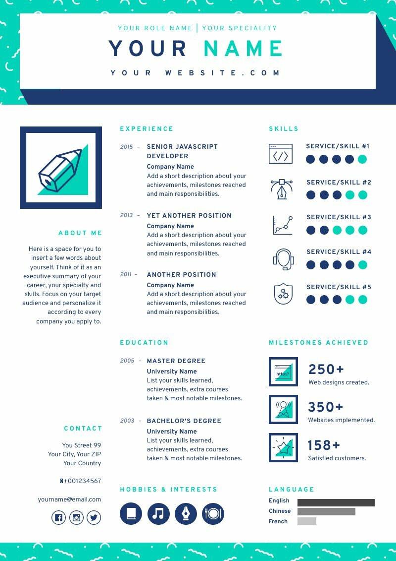 Creative Resume 1