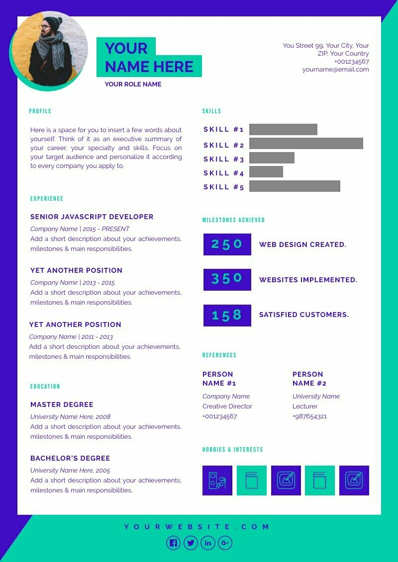 Creative Resume 3