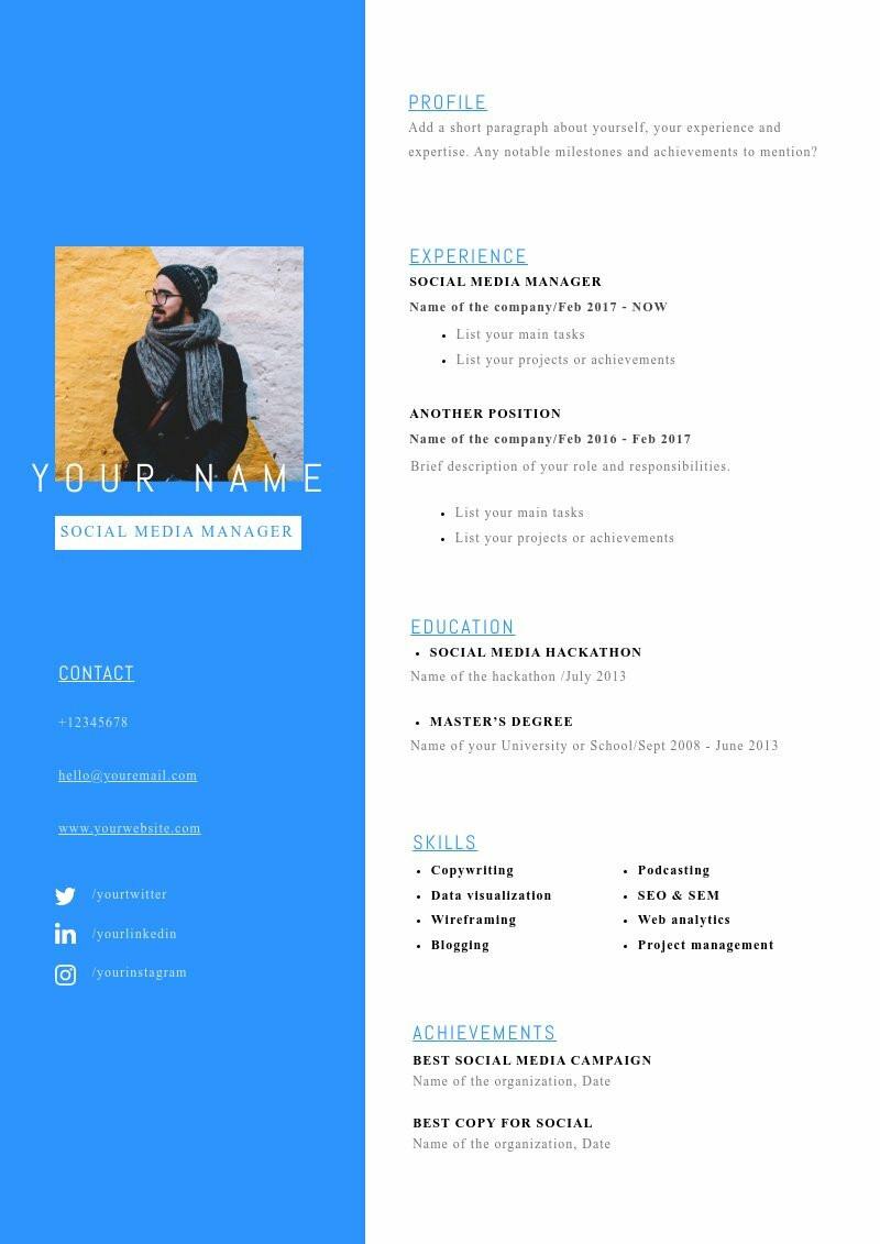 CV Social Media