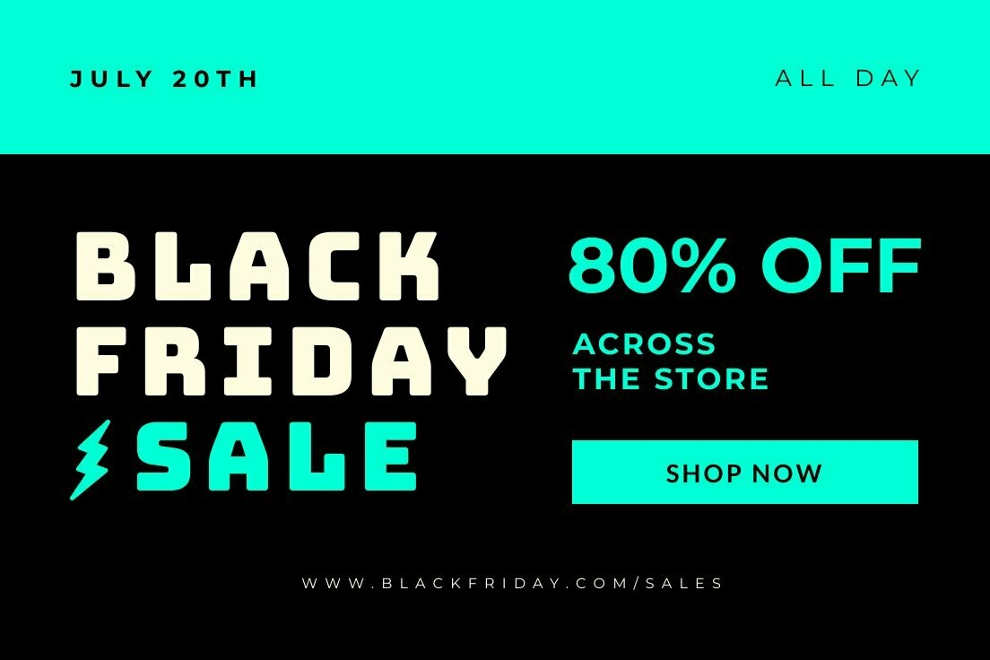 Black Friday Promo LinkedIn Post