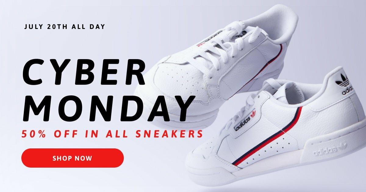 Cyber Monday Promo Facebook Post