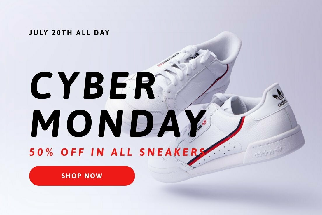 Cyber Monday Promo LinkedIn Post